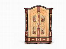Solid Wooden Cupboard, Southern Germany, c. 1800