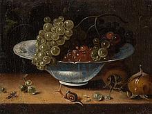 Jacob Marrel (1614-1681), Still Life With Grapes, c. 1670/80