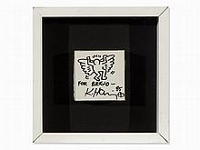 Keith Haring (1958-1990), Angel for Bridgit Polk, Felt-Tip 1985