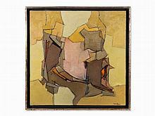 Francis Bott (1904-1998), Tyrannie de l'Espace, Painting, 1959