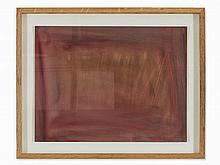 Orhon Mübin (1914-1981), Abstract Composition, Gouache, 1973