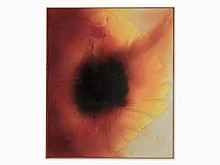 José María Sicilia (born in 1954), Sunflower, Mixed Media, 2002