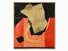 Horst E. Kalinowski (1924-2013), Missive Tragique, Collage,´64