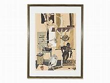 Horst Janssen (1929-1995), Still Life, Tempera, 1949/50