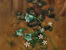 Heinrich Basedow (1896-1984), Glockenblumen, Oil, 1926