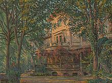 Paul Hoeniger (1865-1924), Summer Day, Oil, 1916
