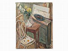 Vladimir Naiditch (1903-1980), Studio Interior, Oil, c. 1930