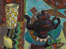 Nikolai Isaev (1891-1977), Composition à la Théière, c. 1920