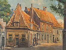 Leo Klein von Diepold (1865-1944),Street View Noordwijk, 1913