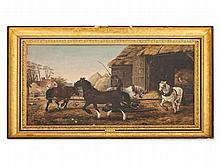 John F. Herring I (1795-1865), 'The Horse Mill', circa 1850