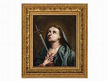 Venetian School, Oil Painting, Mater Dolorosa, 2nd Half 18th C.