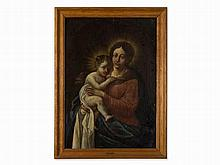 Christian Wink, Follower of, Madonna and Child, 19th Century