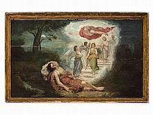 Oil Painting, Jacob's Dream, presumably Italy, 1st Half 16th C.