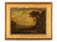 Follower of Gaspard Dughet, Arcadian Landscape, c. 1800