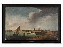 Reinier Zeeman, Circle of, View of Amsterdam, 17th C.