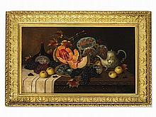 Josef Lauer (1818-1881), Still Life with Ripe Fruits, c. 1870