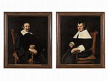 Jan Cornelisz. Verspronck, Attributed, 2 Portraits, c. 1655
