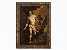 After Anthony van Dyck, St. Sebastian, Oil, 18th C.