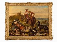 Gourlay Steel (1819-1894), Sleeping Shepherd, Scotland, 1848