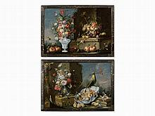 Christian Berentz (1658-1722), Pair of Still Lifes, Oil, 17th C