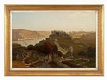 Christian Eduard Boettcher, The Rhineland by St. Goar, 1882