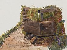 Hugo Darnaut, Study of a Fountain, Austria, 1899