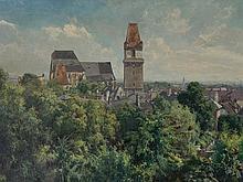 Carl R. Lorenz (1871-1945), Perchtoldsdorf, Oil, 1 H. 20 C.