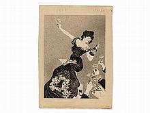 Alfred Roller (1864-1939), Attr., Advertising Draft, c. 1900