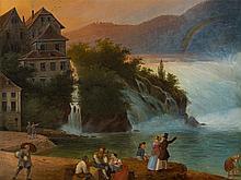 Carl Ludwig Hoffmeister (1790-1843), Rhine Falls Schaffhausen