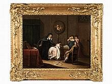 Adam Braun (1748-1827), Correction in the Girls' School, 1789
