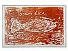 Jannis Kounellis, Terragraph, Fish of Life, Israel, 2000, Jannis Kounellis, €2,400