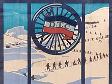 "Vintage Poster ""Touringclub Ski-Kurs"