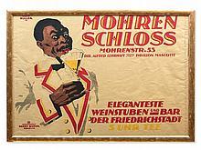 Reinhard Hoffmüller (1894-1975), Poster 'Mohrenschloss', 1919