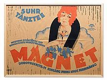 Reinhard Hoffmüller, Poster, 5 O'Clock Tea Party, Berlin, 1920