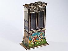 "Large Hartwig & Vogel savings bank vending machine ""Flora"" 1910"