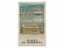 M. Brianchon, Vintage Poster 'Plages du Morbihan', France, 1950