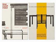 Alfred Hablützel 'Neue Metallmöbel' & 'Theo Jacob', 1957/58