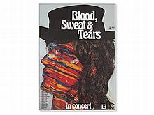 'Blood, Sweat & Tears' Concert Poster, Guenther Kieser, 1974