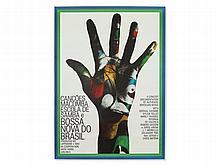 Guenther Kieser, Poster 'Bossa Nova do Brasil', c. 1966