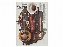 Guenther Kieser, Concert Poster 'Jazz Festival Frankfurt', 1972