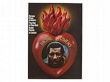 Guenther Kieser, Concert Poster 'Richie Havens', 1971/72