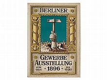 L. Suetterlin, Poster 'Industrial Exposition Berlin', 1896