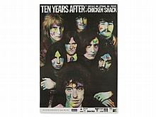 G. Kieser, Poster 'Ten Years After & Chicken Shack', 1969