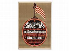Poster 'Industrial Museum Bremen - Christmas Exhibition ', 1912