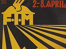 Ludwig Sievert, Poster 'Frankfurt Fair', early 20th C