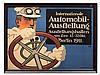 Lucian Bernhard, 'Internationale Automobil-Ausstellung', 1911, Lucian Bernhard, €2,400