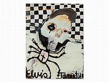 Kinki Texas, Elvis Tarantula, Painting, Germany, 2007