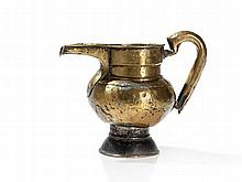 Chhaang Jug of Brass and Foot of Copper, Tibet, 19th C