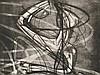 Stanley William Hayter, Radierung, 'Sorcier', France, 1953, Stanley William Hayter, €450