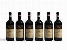 6 magnum bottles 2000 Castello di Ama Chianti Classico, Tuscany